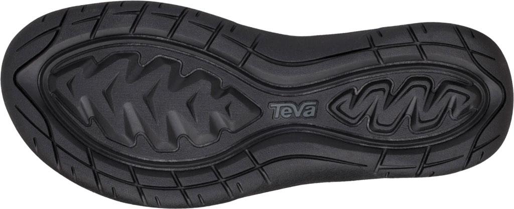 Women's Teva Elzada Leather Sandal, Black Leather, large, image 6