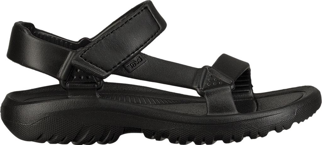 Children's Teva Hurricane Drift Sandal, Black Synthetic, large, image 2