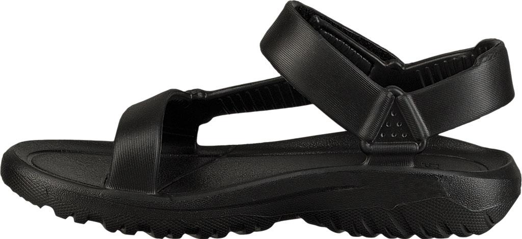 Children's Teva Hurricane Drift Sandal, Black Synthetic, large, image 3