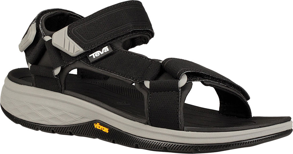 Men's Teva Strata Universal Sandal, Black Synthetic, large, image 1