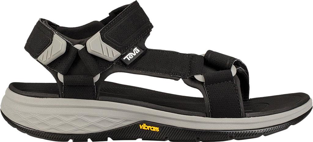 Men's Teva Strata Universal Sandal, Black Synthetic, large, image 2