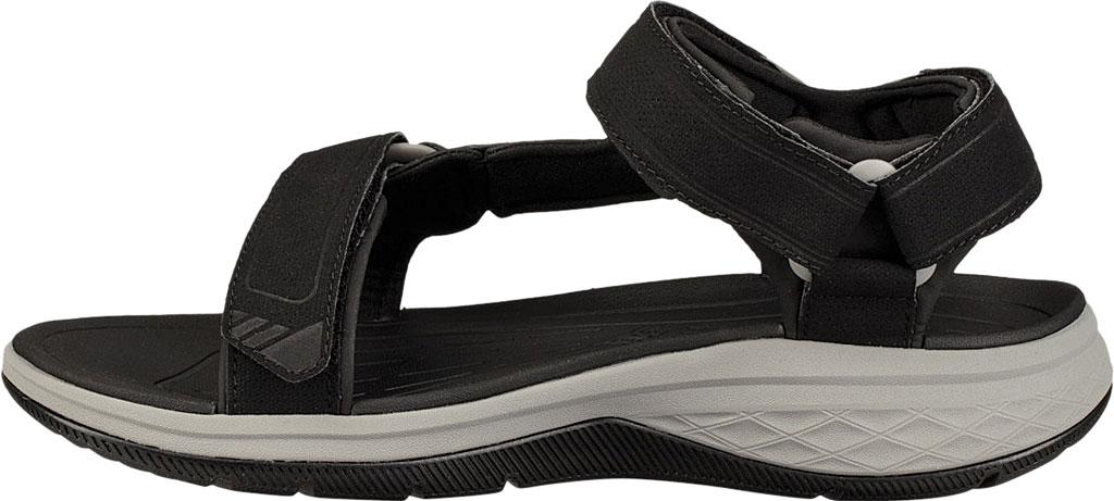 Men's Teva Strata Universal Sandal, Black Synthetic, large, image 3