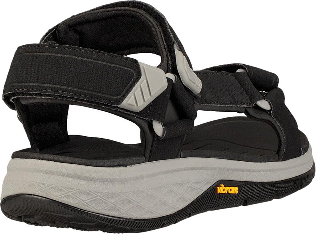 Men's Teva Strata Universal Sandal, Black Synthetic, large, image 4