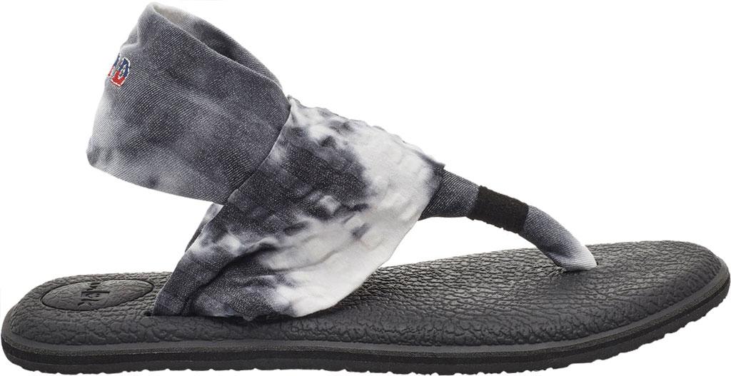Women's Sanuk Yoga Sling 2 Grateful Dead Thong Sandal, Multi Stretch Knit, large, image 2