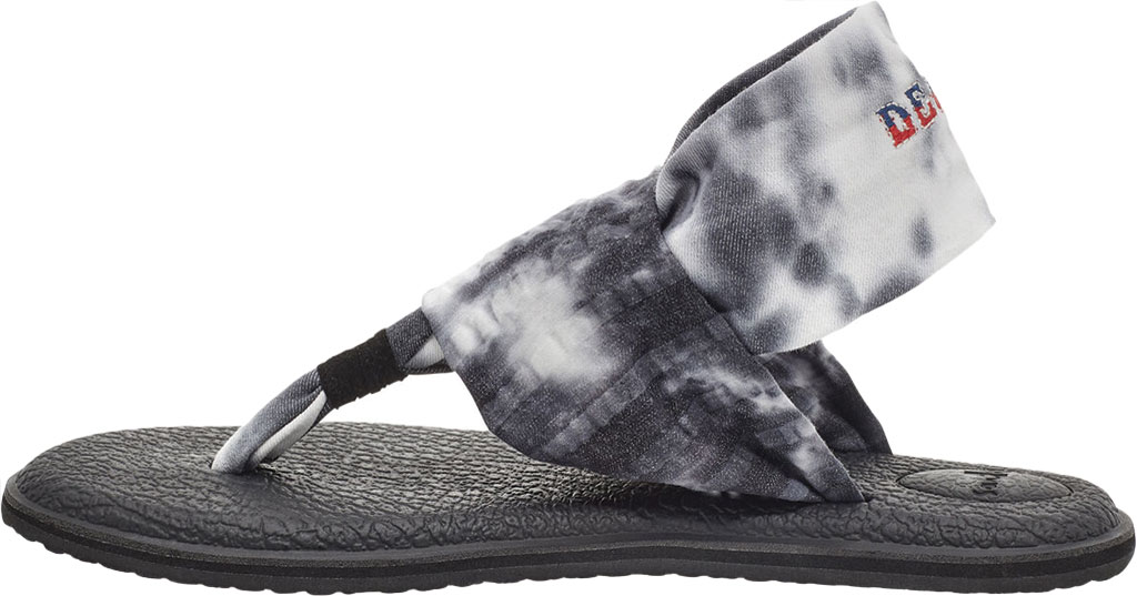 Women's Sanuk Yoga Sling 2 Grateful Dead Thong Sandal, Multi Stretch Knit, large, image 3