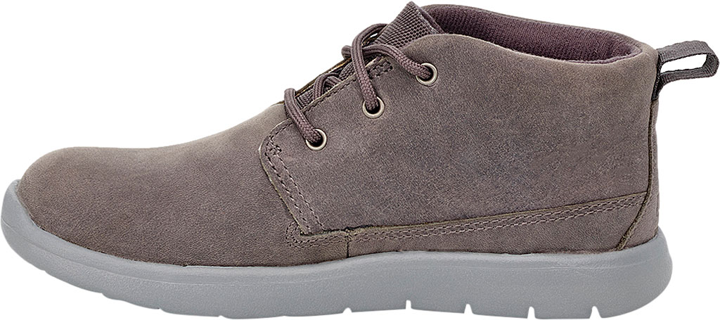 Children's UGG Canoe Waterproof Chukka Boot, Charcoal Leather, large, image 3