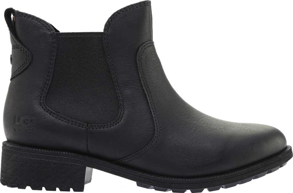 Women's UGG Bonham III Waterproof Boot, Black Leather, large, image 2