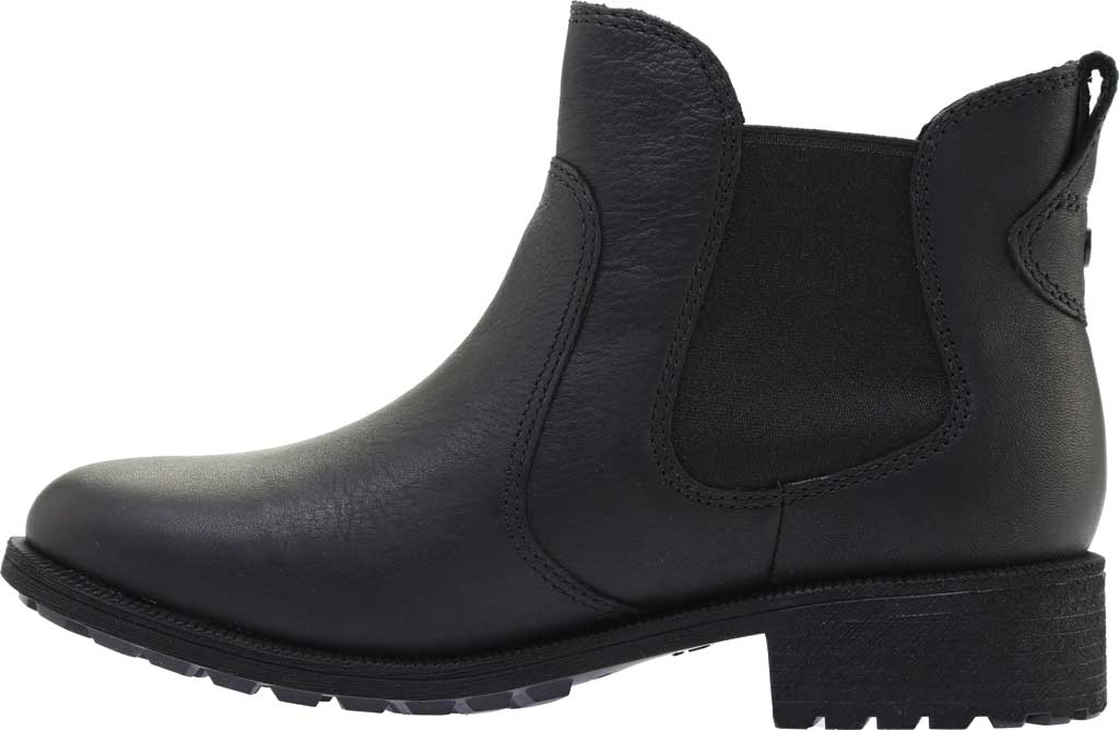 Women's UGG Bonham III Waterproof Boot, Black Leather, large, image 3