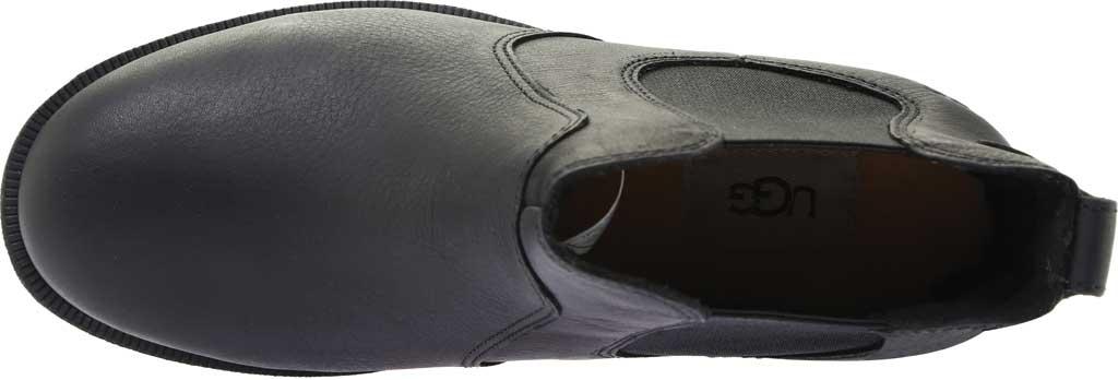 Women's UGG Bonham III Waterproof Boot, Black Leather, large, image 5