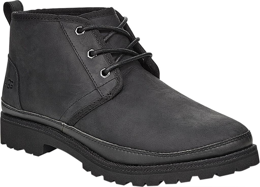 Men's UGG Neuland Waterproof Boot, Black TNL Full Grain Leather, large, image 1