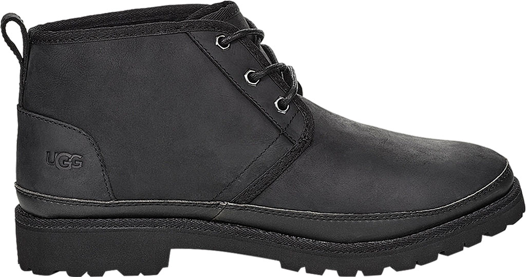 Men's UGG Neuland Waterproof Boot, Black TNL Full Grain Leather, large, image 2