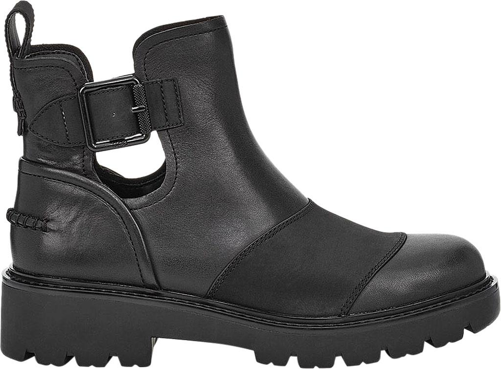 Women's UGG Stockton Ankle Boot, Black Leather, large, image 2