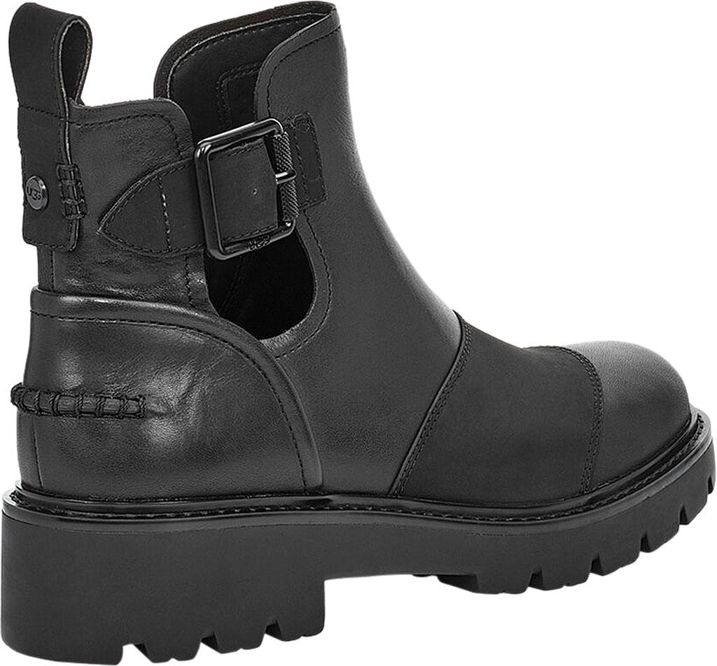 Women's UGG Stockton Ankle Boot, Black Leather, large, image 4