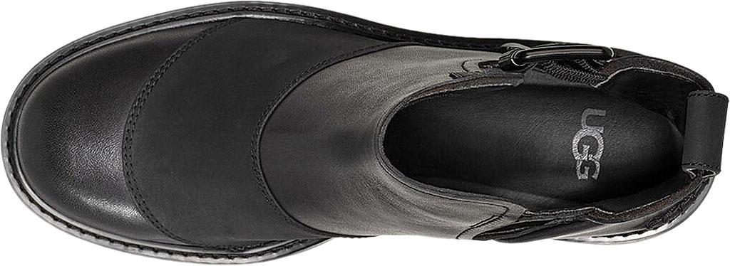 Women's UGG Stockton Ankle Boot, Black Leather, large, image 5