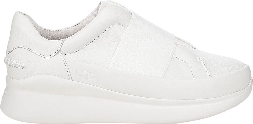 Women's UGG Libu Sneaker, White Leather, large, image 2