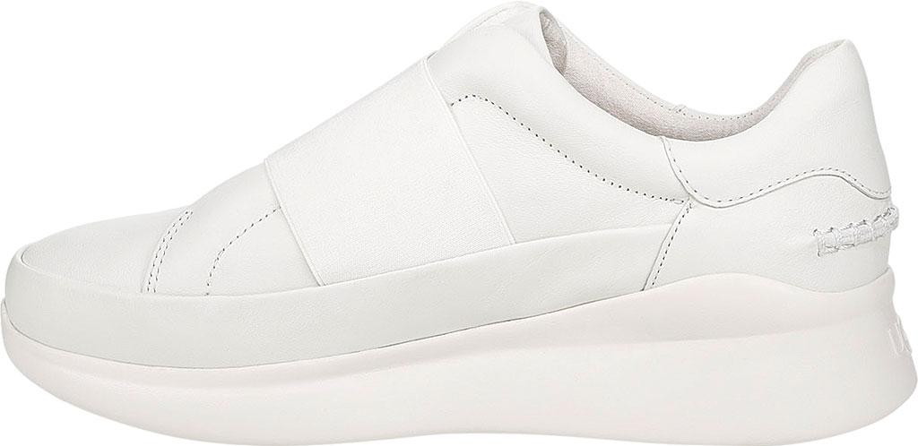 Women's UGG Libu Sneaker, White Leather, large, image 3