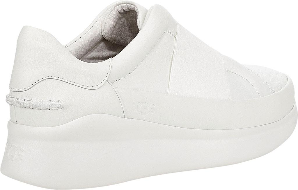 Women's UGG Libu Sneaker, White Leather, large, image 4