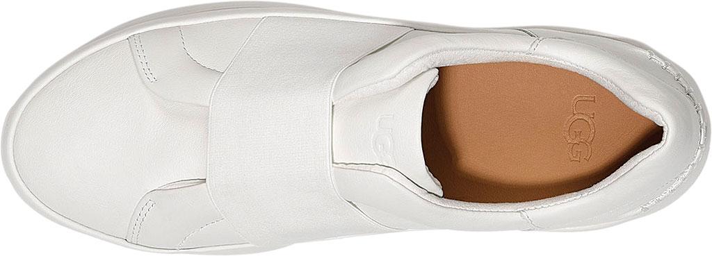 Women's UGG Libu Sneaker, White Leather, large, image 5