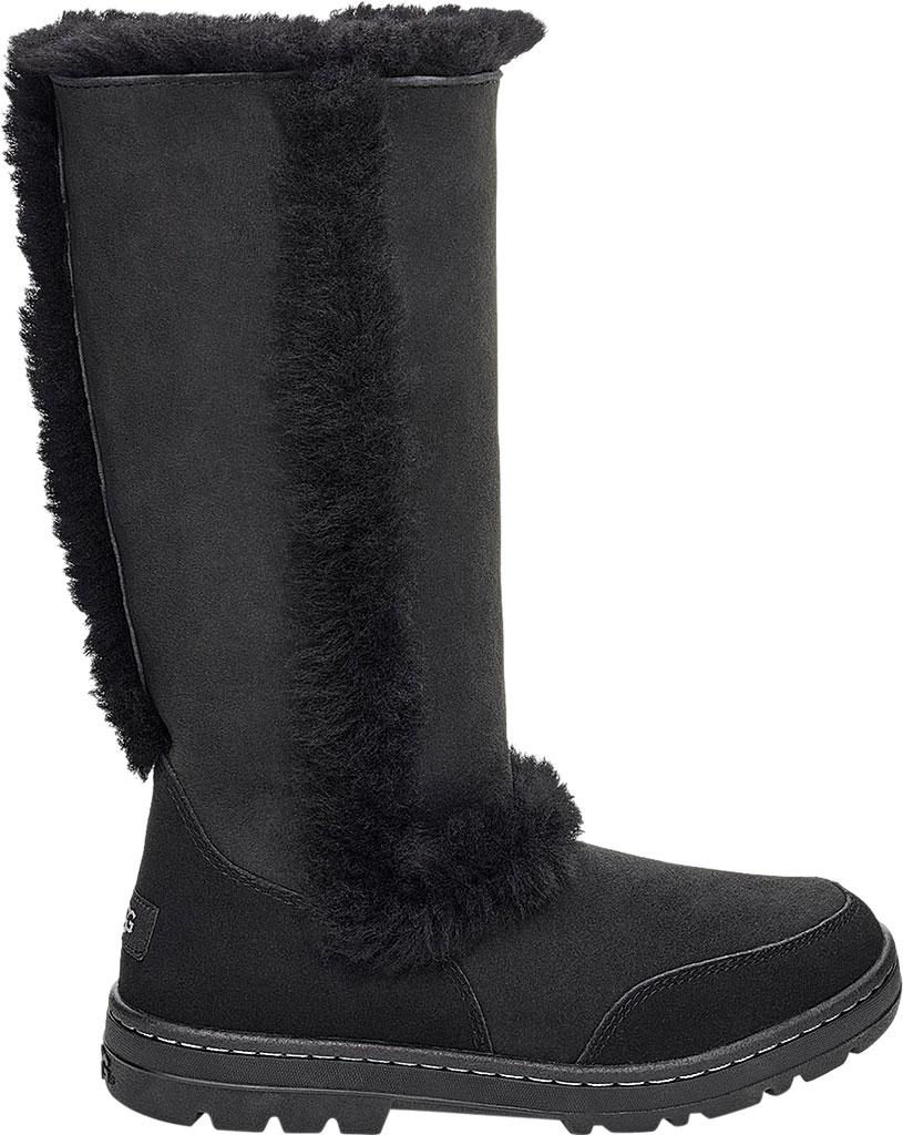 Women's UGG Sundance II Revival Boot, Black Twinface Sheepskin, large, image 2