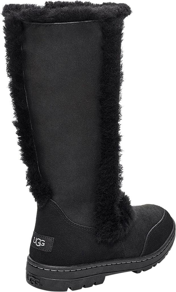 Women's UGG Sundance II Revival Boot, Black Twinface Sheepskin, large, image 4