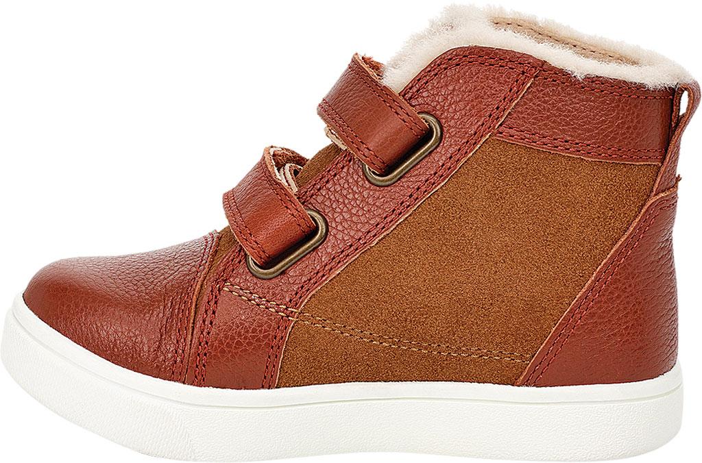 Infant UGG Rennon II High Top Sneaker - Toddler, Chestnut Soft Suede/Leather, large, image 3