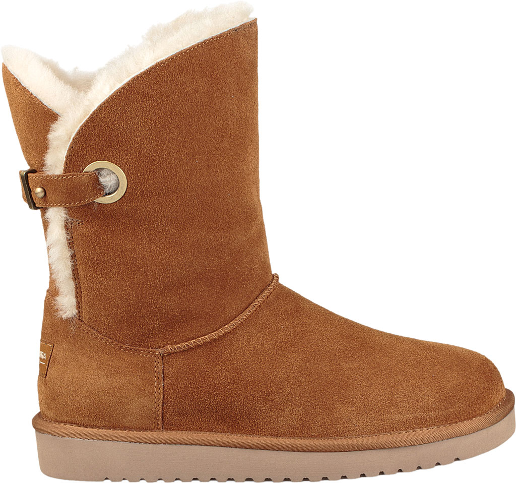 Women's Koolaburra by UGG Remley Short Mid Calf Boot, Chestnut Suede, large, image 2