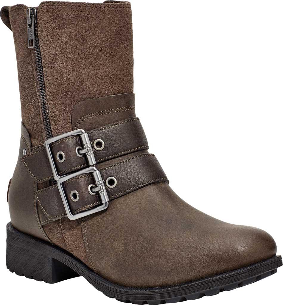 Women's UGG Wilde Waterproof Boot, Slate Suede/Leather, large, image 1