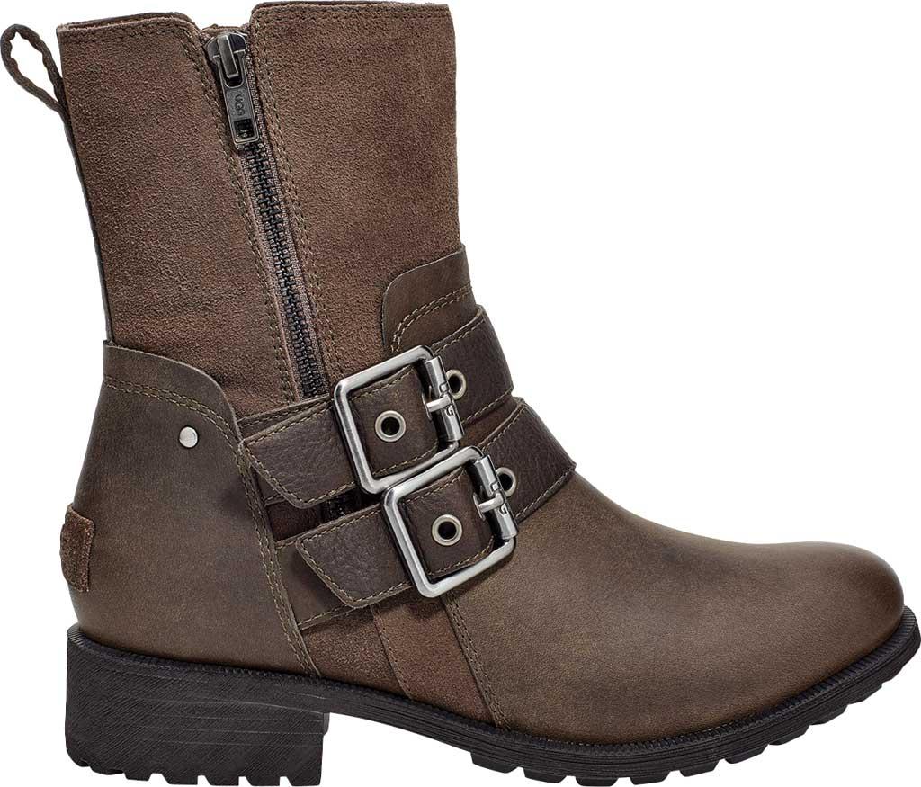 Women's UGG Wilde Waterproof Boot, Slate Suede/Leather, large, image 2
