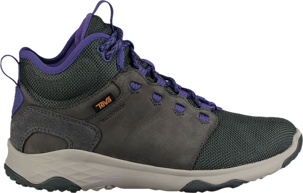 Women's Teva Arrowood Venture Mid Waterproof Boot, Darkest Spruce Leather/Textile, large, image 2
