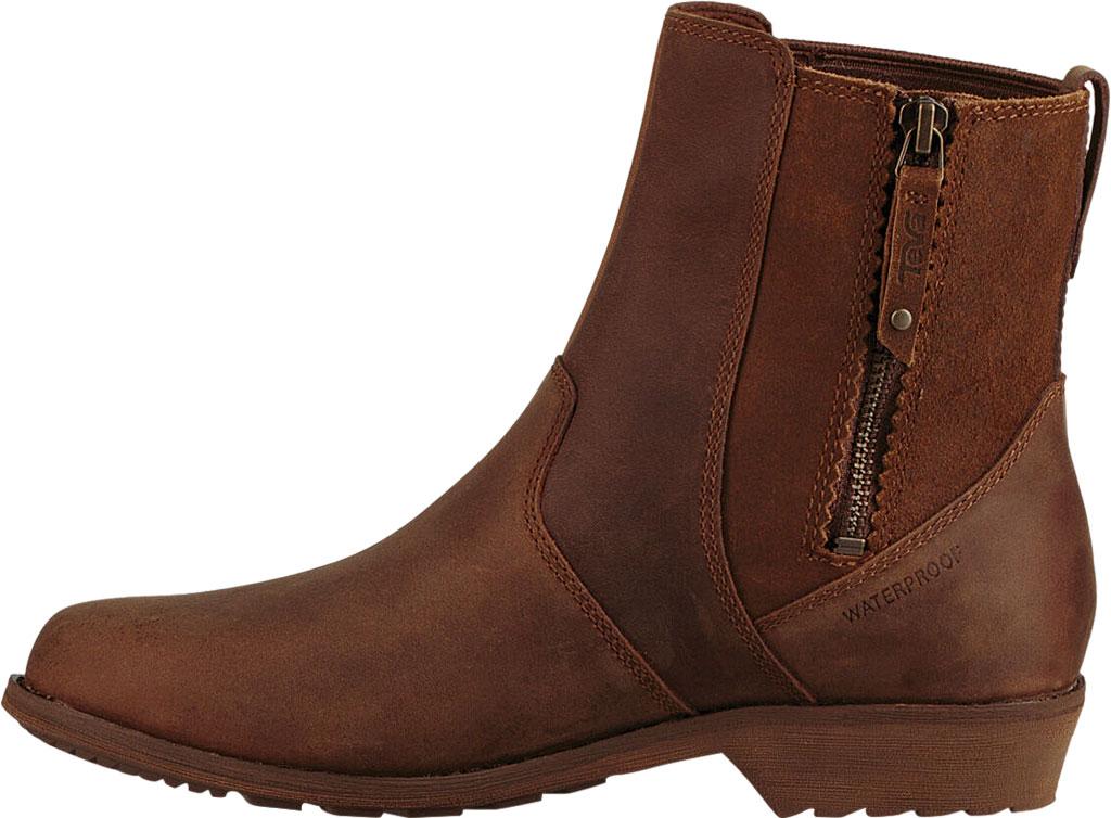 Women's Teva Ellery Waterproof Ankle Boot, Pecan Leather, large, image 3