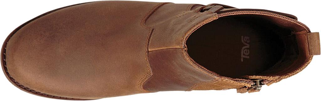 Women's Teva Ellery Waterproof Ankle Boot, Pecan Leather, large, image 5