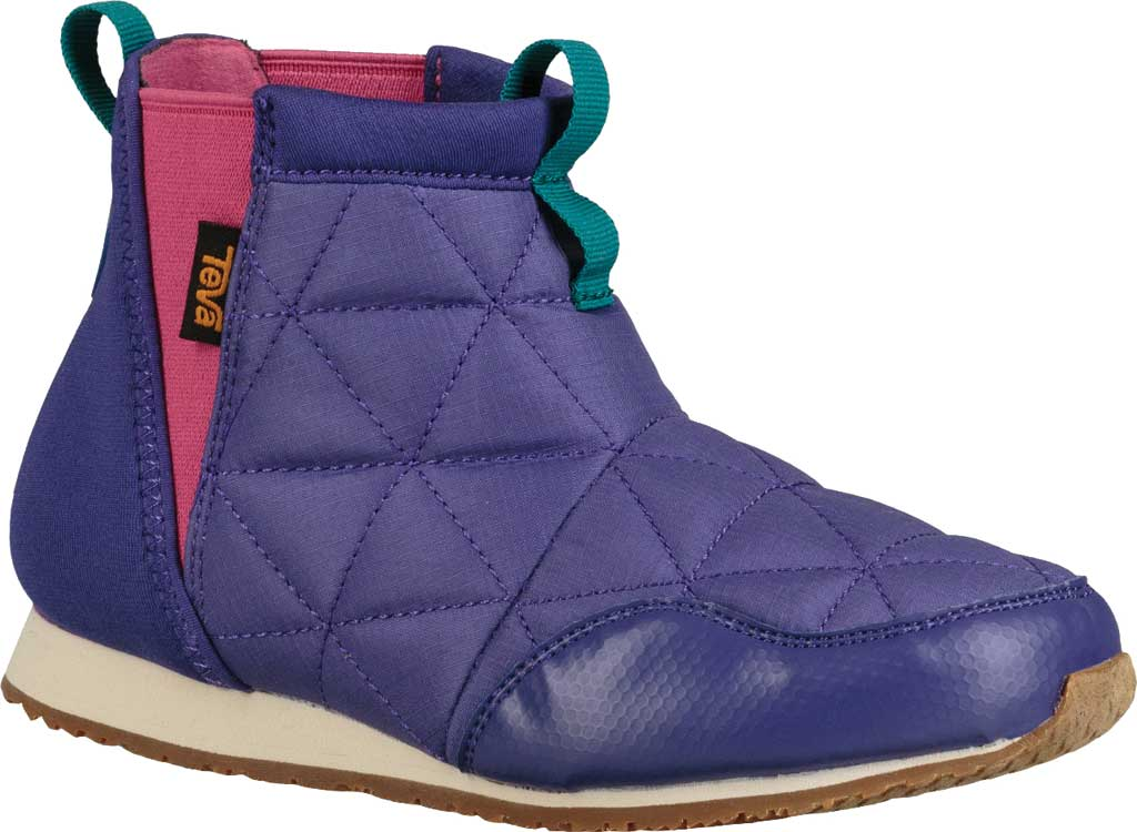 Children's Teva Ember Mid Chelsea Boot - Big Kid, Ultraviolet Polyester, large, image 1