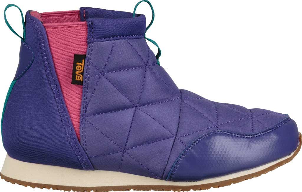 Children's Teva Ember Mid Chelsea Boot - Big Kid, Ultraviolet Polyester, large, image 2