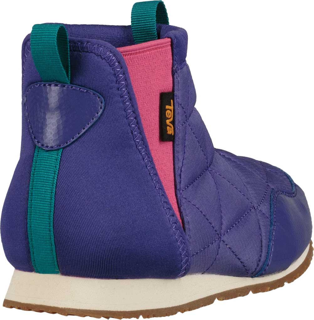 Children's Teva Ember Mid Chelsea Boot - Big Kid, Ultraviolet Polyester, large, image 4
