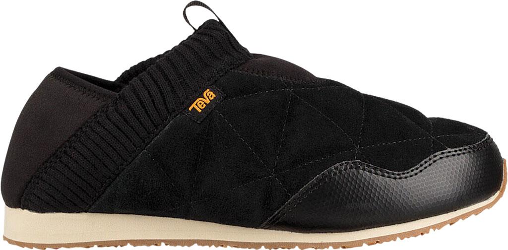 Women's Teva Ember Moc Toe Sneaker, Black Suede, large, image 2