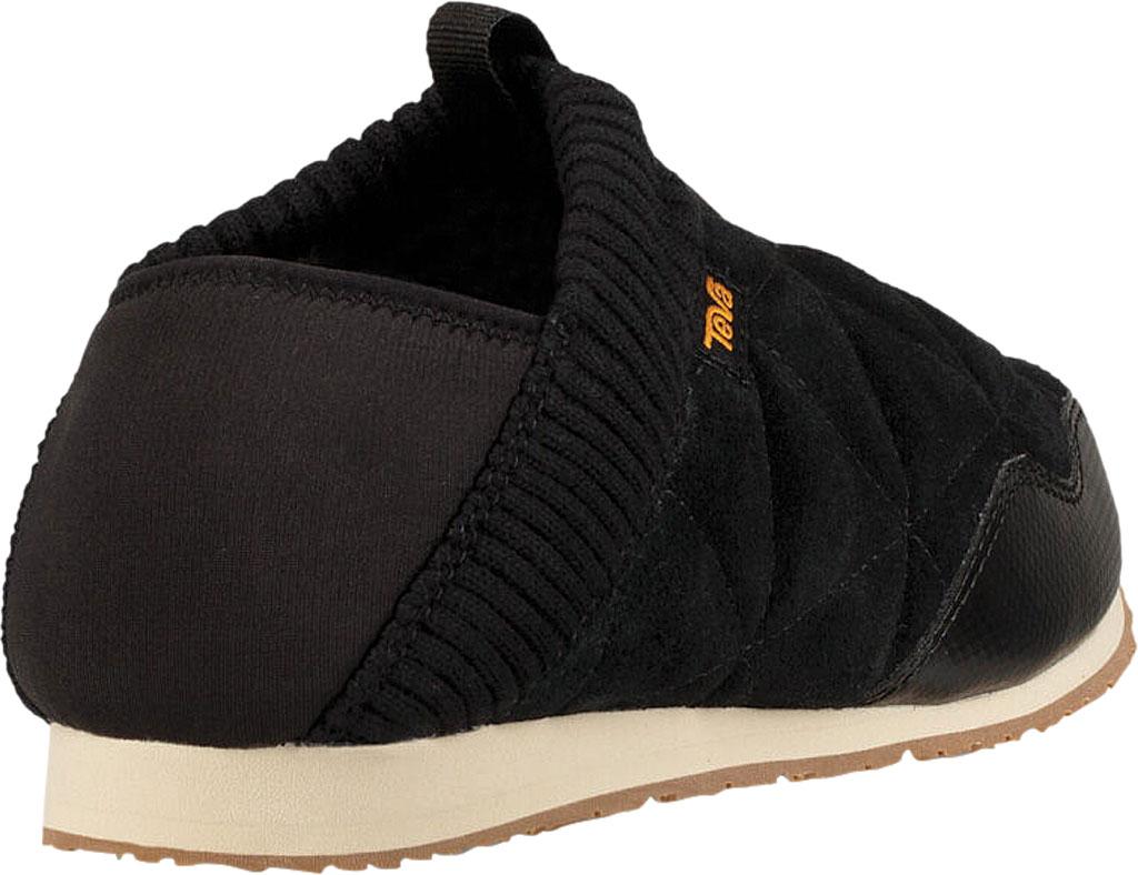 Women's Teva Ember Moc Toe Sneaker, Black Suede, large, image 4