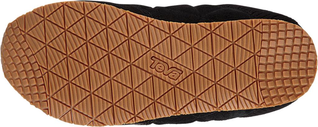 Women's Teva Ember Moc Toe Sneaker, Black Suede, large, image 5