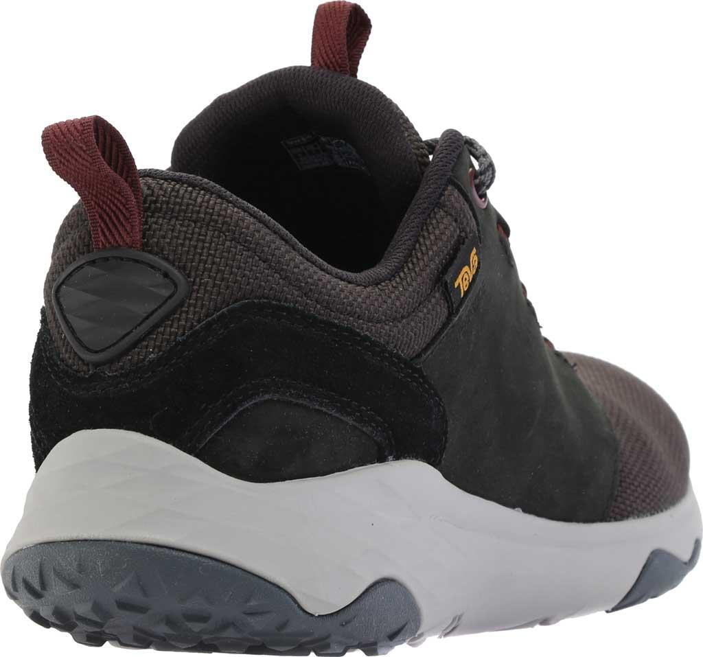 Women's Teva Arrowood Venture Waterproof Sneaker, Black Leather/Textile, large, image 4