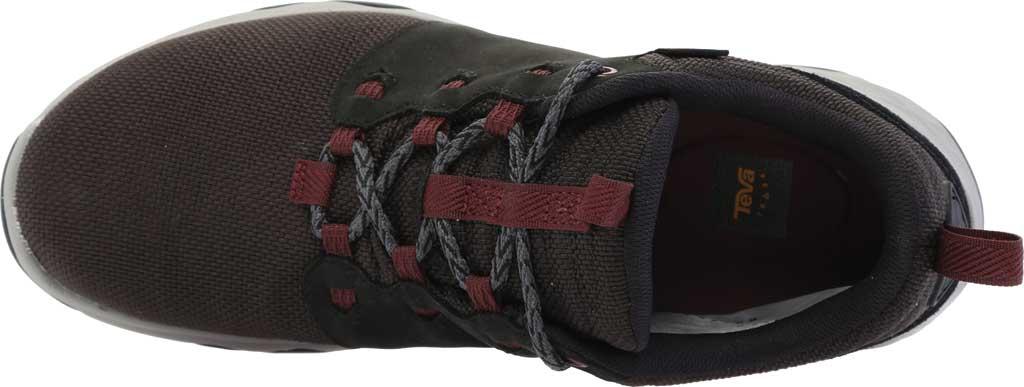 Women's Teva Arrowood Venture Waterproof Sneaker, Black Leather/Textile, large, image 5