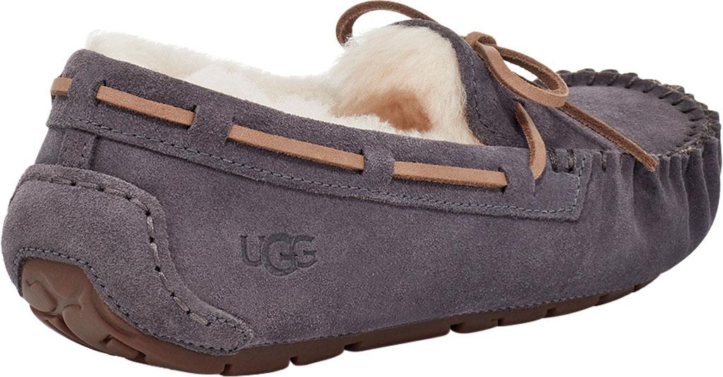 Women's UGG Dakota Water Resistant Moccasin Slipper, Nightfall Suede, large, image 4