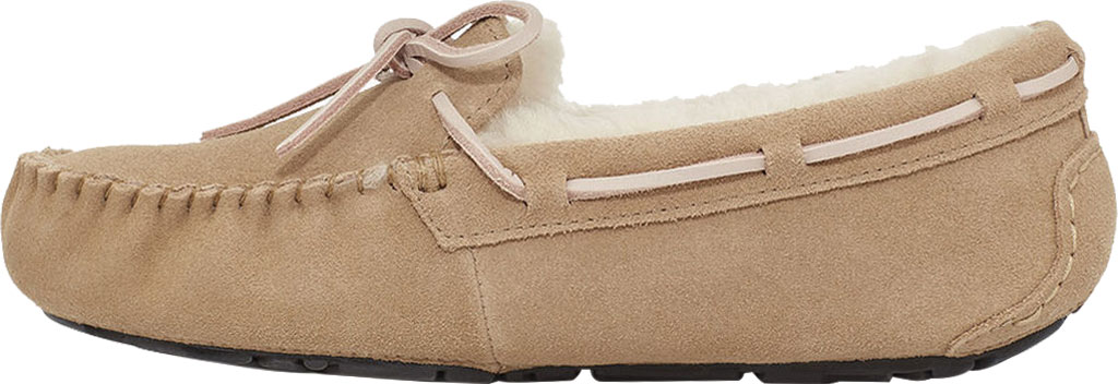 Women's UGG Dakota Water Resistant Moccasin Slipper, Tabacco Suede, large, image 3