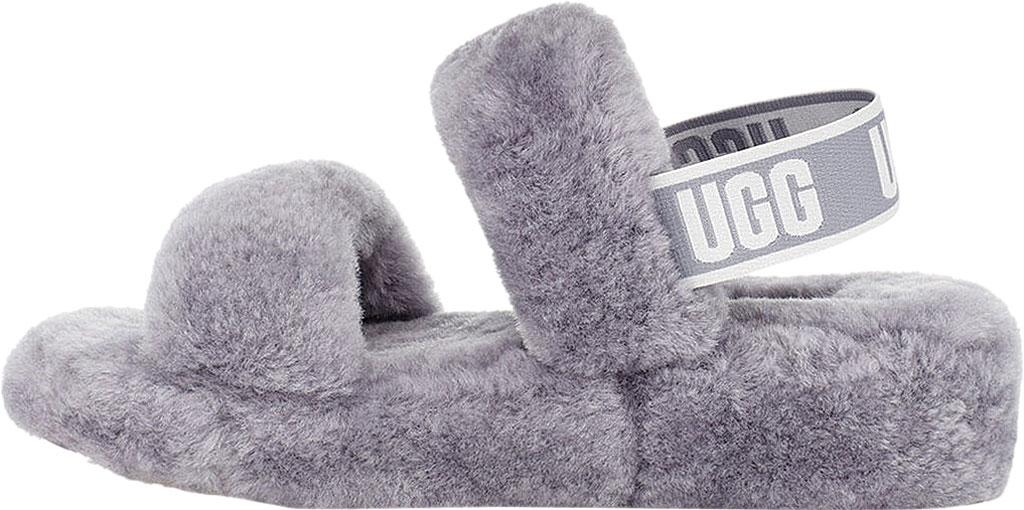 Women's UGG Oh Yeah Slingback, Soft Amethyst Sheepskin, large, image 3