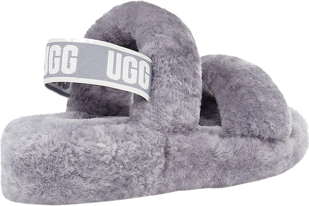 Women's UGG Oh Yeah Slingback, Soft Amethyst Sheepskin, large, image 4