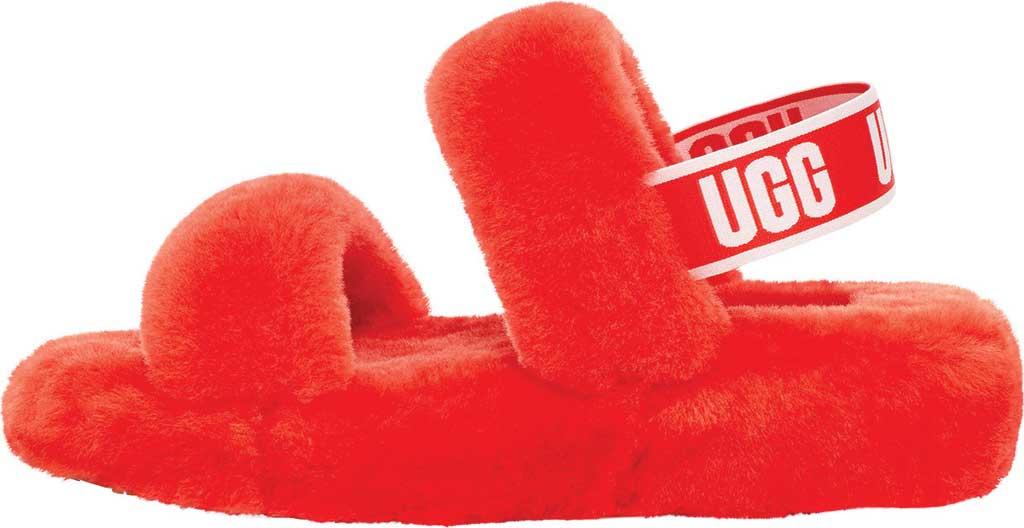 Women's UGG Oh Yeah Slingback, Lava Flow Sheepskin, large, image 3