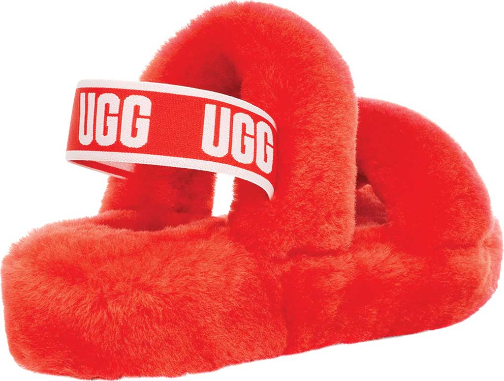Women's UGG Oh Yeah Slingback, Lava Flow Sheepskin, large, image 4