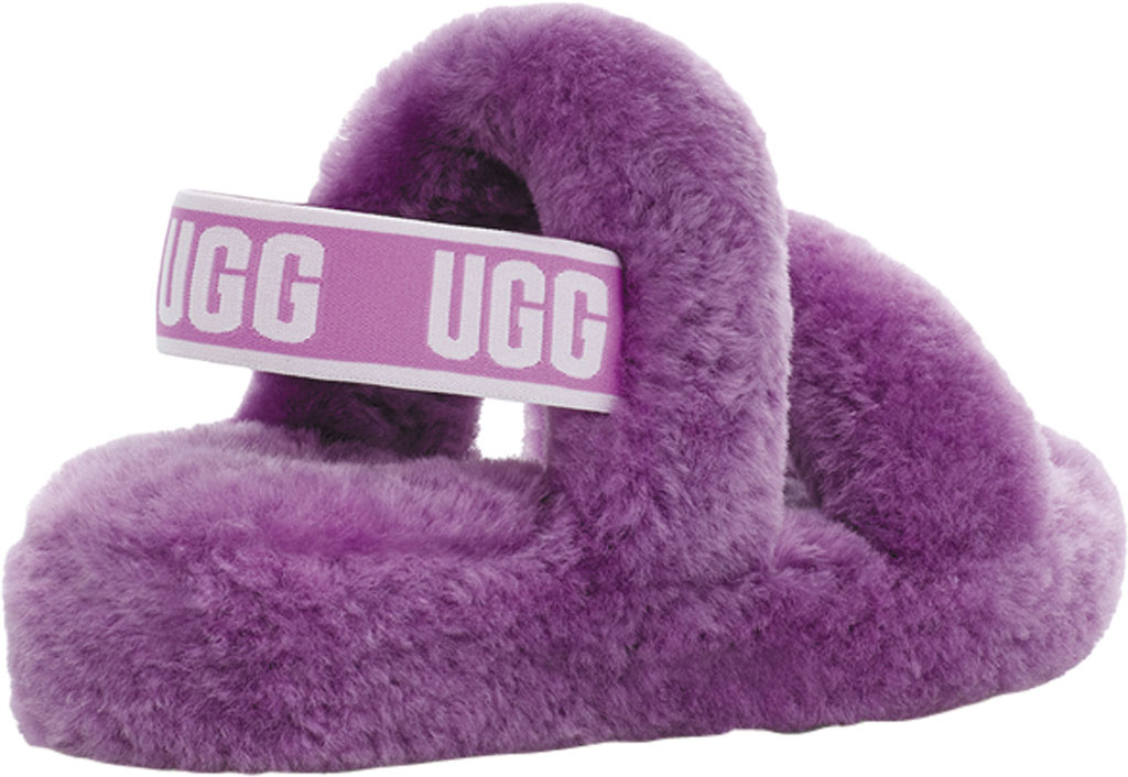 Women's UGG Oh Yeah Slingback, Magnolia Sheepskin, large, image 4