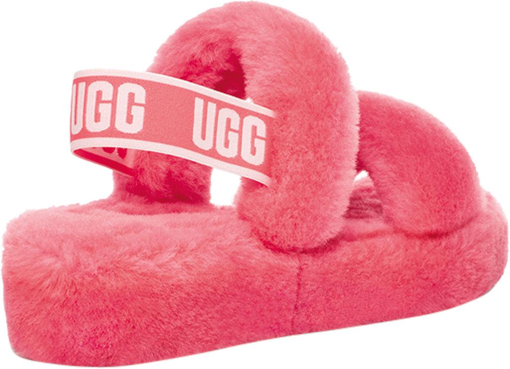 Women's UGG Oh Yeah Slingback, Strawberry Sorbet Sheepskin, large, image 4