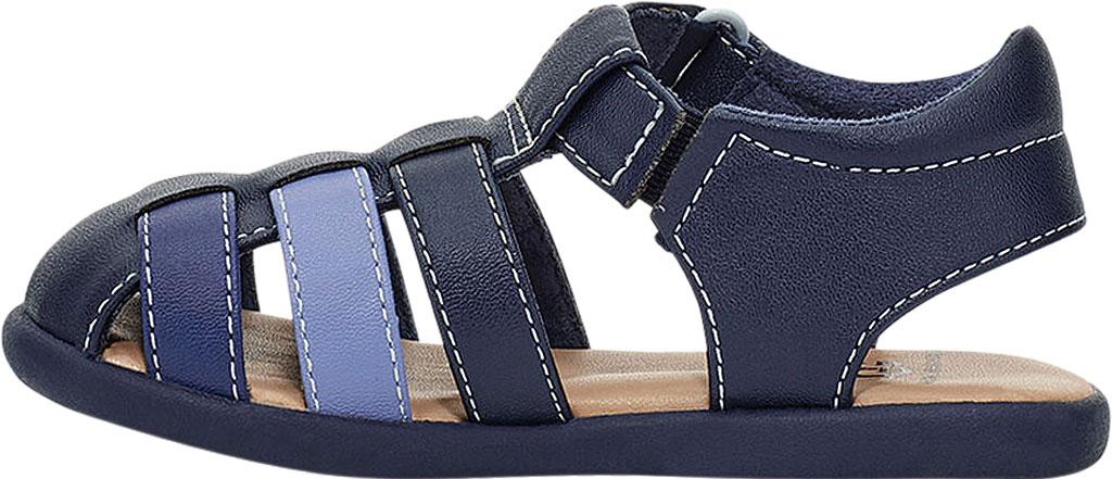 Infant UGG Kolding Fisherman Sandals - Toddler, Navy Synthetic Leather, large, image 3