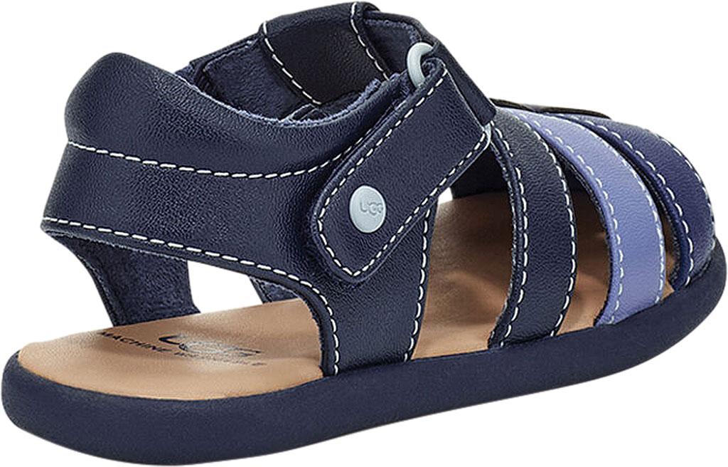 Infant UGG Kolding Fisherman Sandals - Toddler, Navy Synthetic Leather, large, image 4