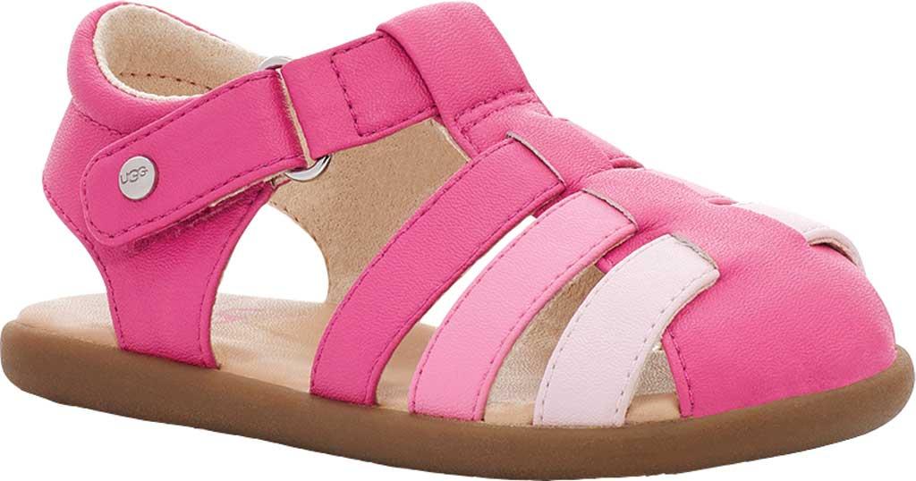 Infant UGG Kolding Fisherman Sandals - Toddler, Pink Azalea Synthetic Leather, large, image 1